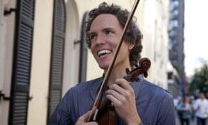 the violinist Tim Fain.