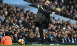 Manchester City's manager, Pep Guardiola