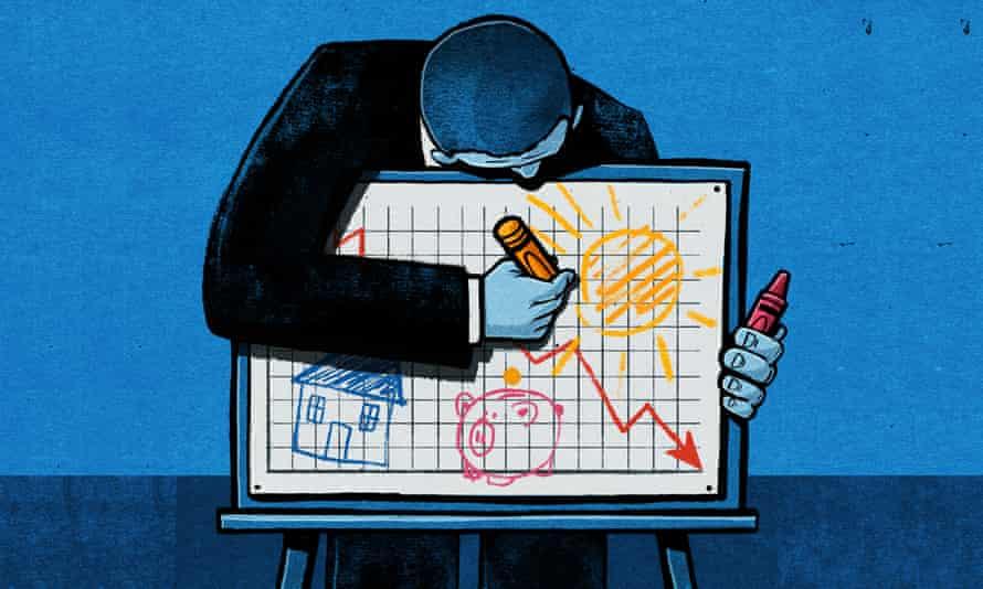 Ben Jenning's illustration for Tom Clark piece on political language