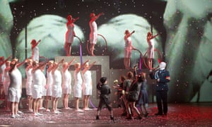 Terry Gilliam's take on Berlioz's Damnation of Faust at the London Coliseum.