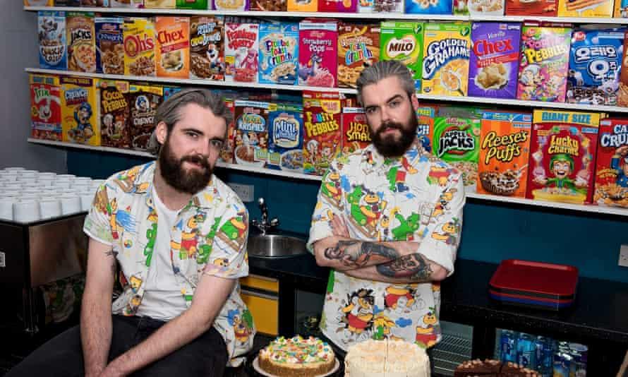 Cereal Killer cafe in Brick Lane