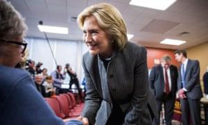 Hillary Clinton in New Hampshire