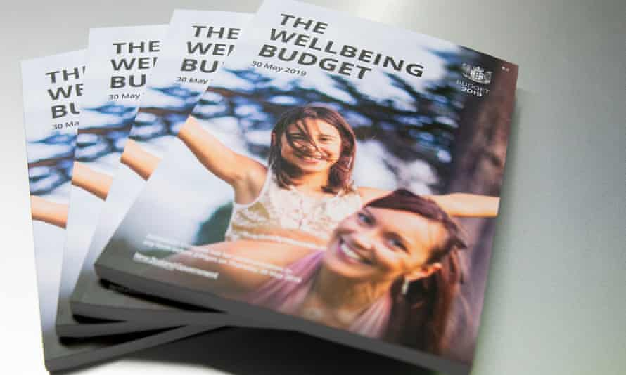 The model who was pictured on the front of New Zealand's much-heralded 'wellbeing' budget, revealed she could not afford to live in the country.