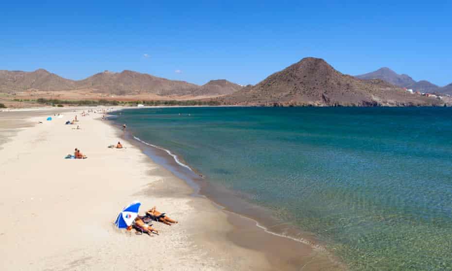 Playa de los Genoveses on Cabo de Gata