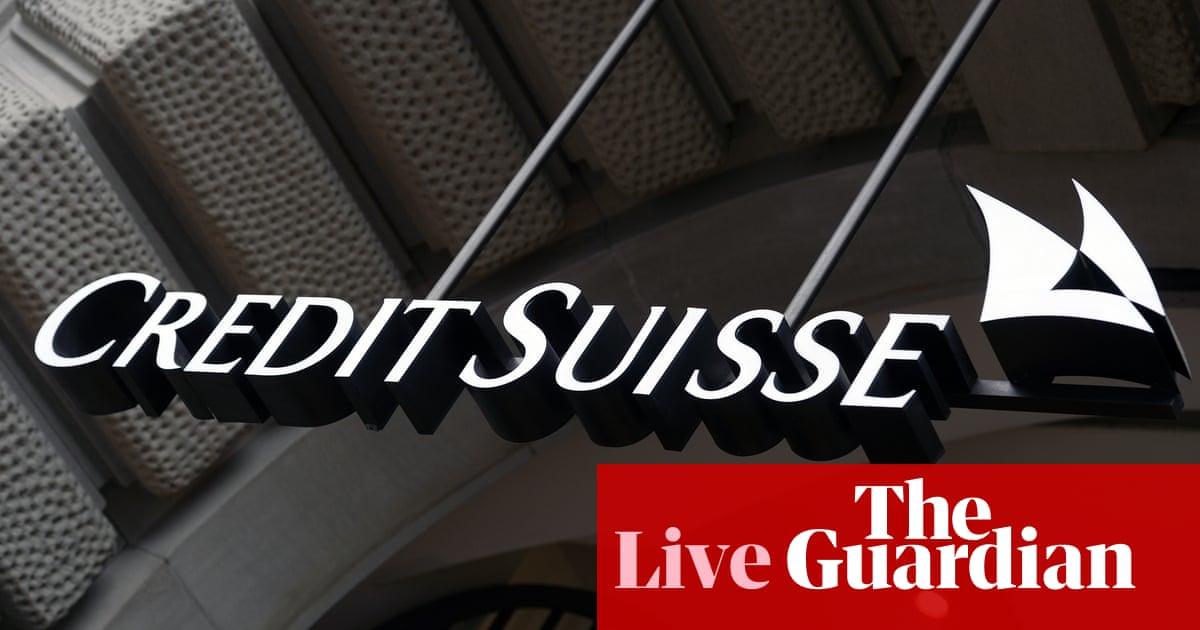 Credit Suisse posts 'unacceptable' loss after Archegos collapse; markets await ECB decision – business live