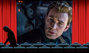 Caught short: Chris Evans in Avengers: Endgame.