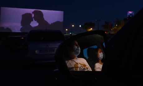 'Demand is huge': EU citizens flock to open-air cinemas as lockdown eases