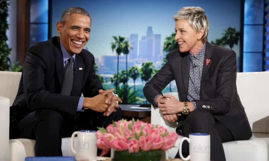President Obama Ellen DeGeneres Show