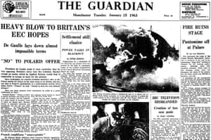 The Guardian, 15 January 1963.