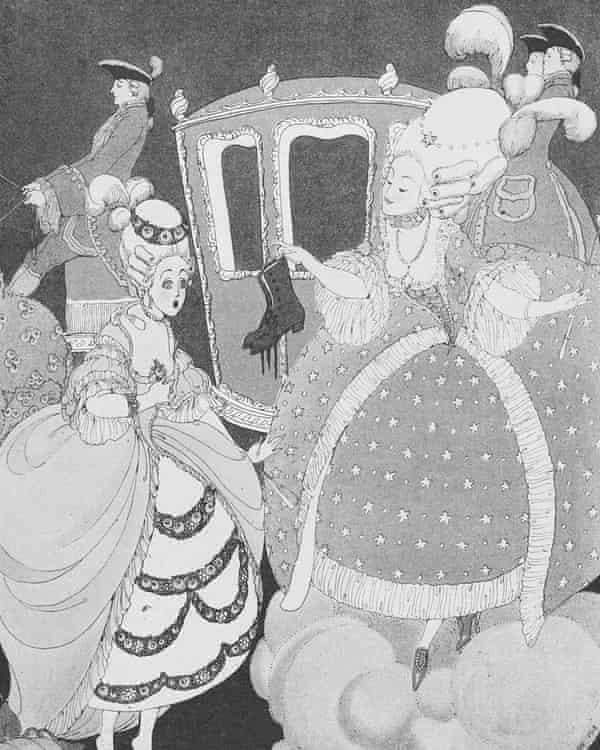 Gerda Wegener's illustration of Cendrillon (Cinderella).