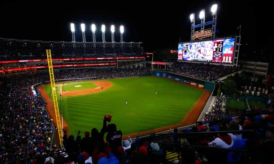 Tom McDonald's stops include Cleveland's Progressive Field
