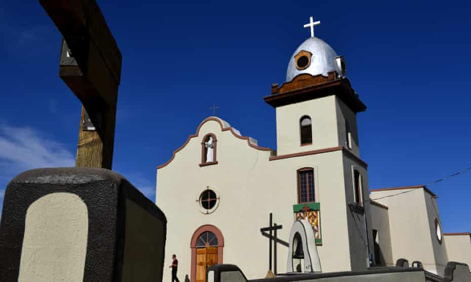 The Ysleta Mission is a stop along the Texas heritage trails tour. The original structure was built by Indigenous Tigua.