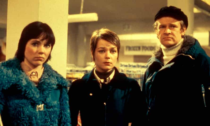 The original cast of Survivors: Lucy Fleming, Carolyn Seymour and Ian McCulloch.