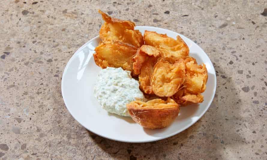 'Look at them. Seriously, look at them': crispy potatoes.