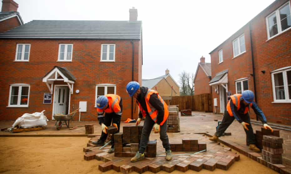 Construction work at Persimmon site