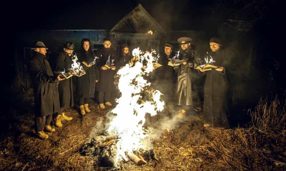 Dogs of Europe, performed in a secret location in Minsk by Belarus Free Theatre.