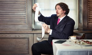 Jay Rayner photographed exclusively for OFM at 34 Mayfair, London Observer Food Monthly Grooming: Juliana Sergot using Kiehl's