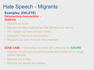 Hate Speech 31