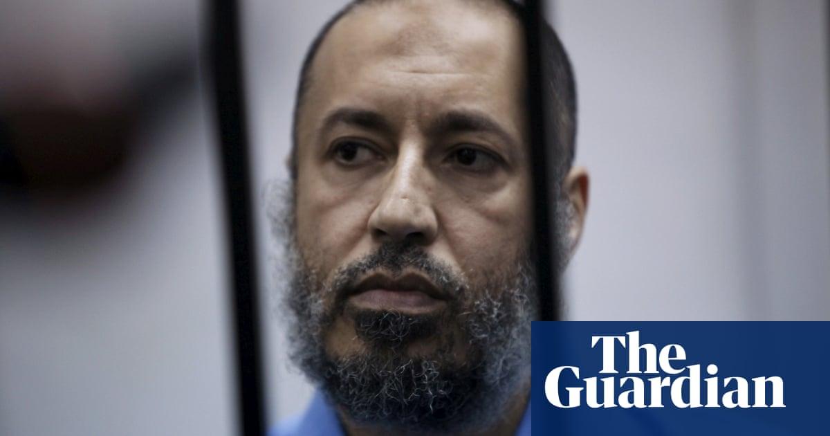 Saadi Gaddafi, son of former Libya dictator Muammar Gaddafi, released from prison