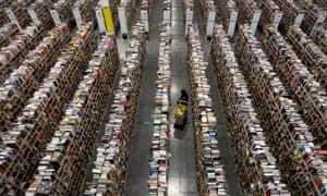 Amazon's distribution centre in Phoenix, Arizona.