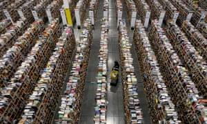 Amazon's distribution center in Phoenix, Arizona.