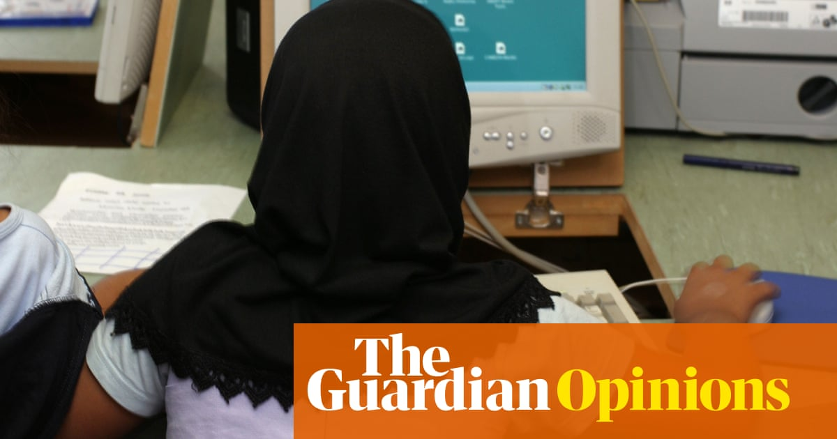 I didn't want to wear my hijab, and don't believe very young