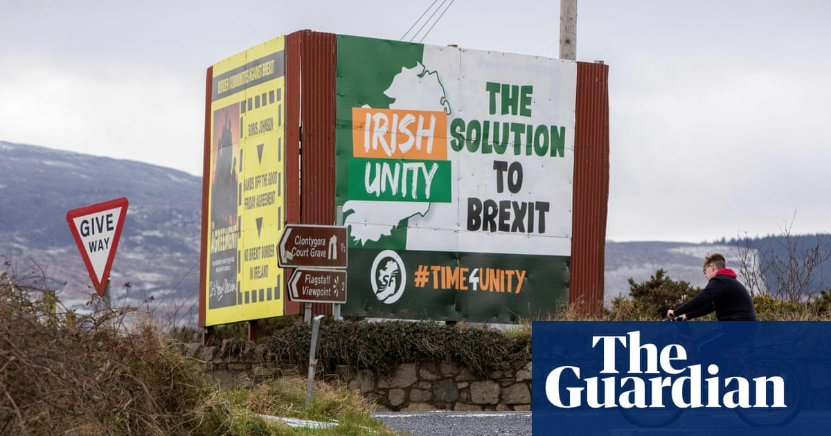 The road to Irish unity is far from straight