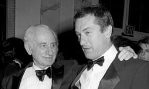 Grandfather Elia Kazan with Robert De Niro in 1987.