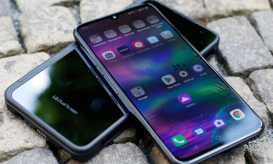 LG's G8X with dual screen phone.