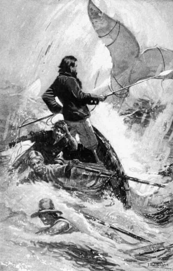 Captain Ahab: 'Here is an archetypal example of the madness of spite.'