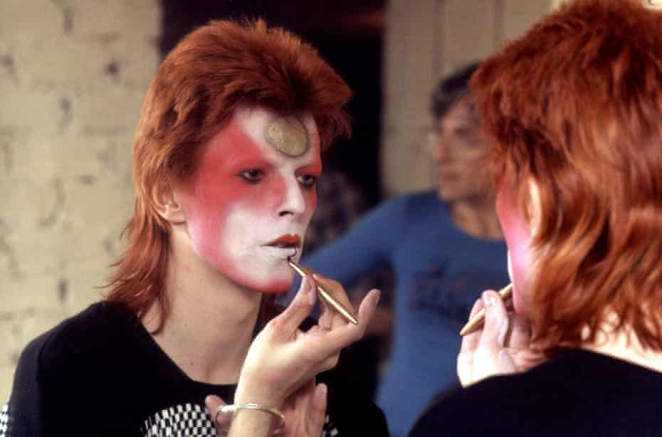 Glam rocks … David Bowie in 1973.