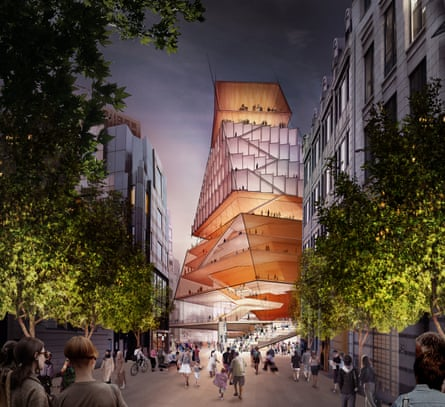 Exterior design concept for London's Centre for Music