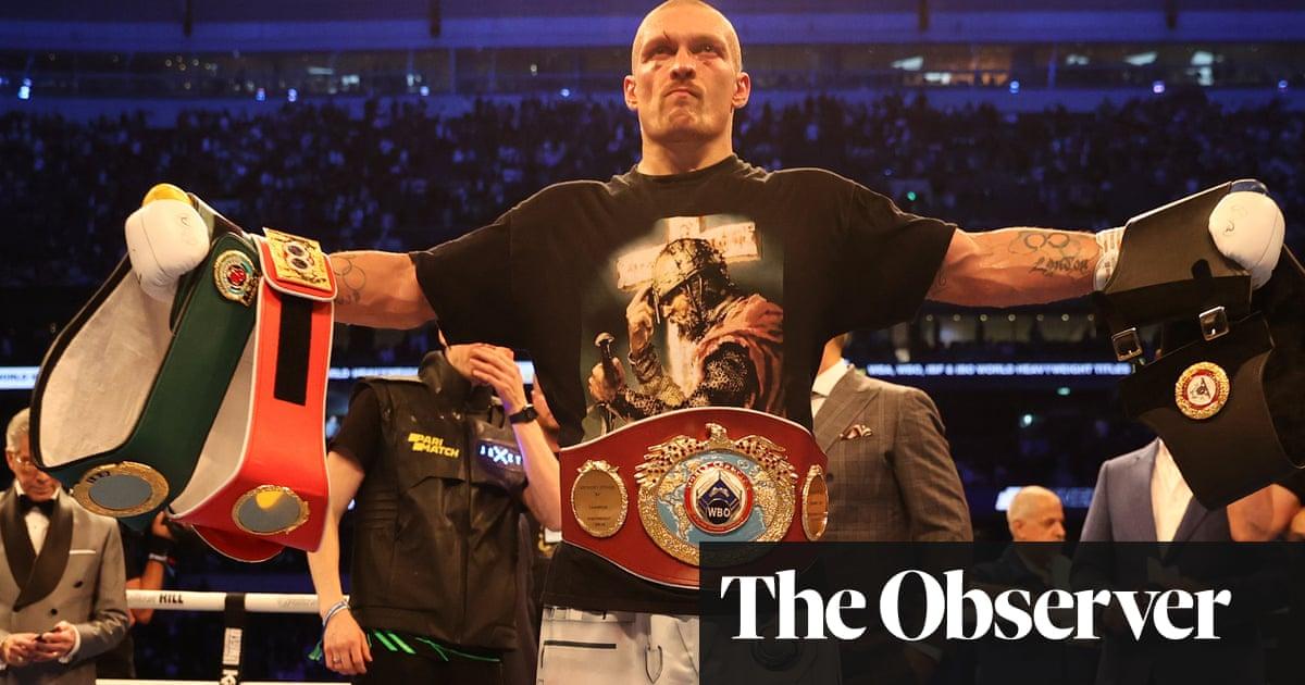 Oleksandr Usyk defeats Anthony Joshua to claim world heavyweight title