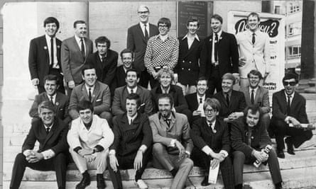 Keith Skues (fourth from right, middle row): 'I felt honoured to be among the founding DJs.'