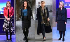 Angela Rayner, Lisa Nandy, Yvette Cooper and Rebecca Long-Bailey are four of those likely to stand for leader