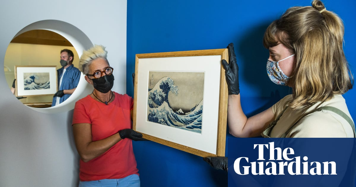 British Museum enters world of NFTs with digital Hokusai postcards