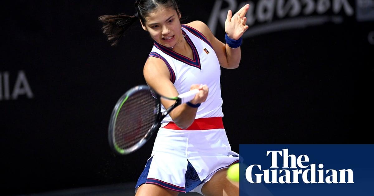 Emma Raducanu is an inspiration, says Transylvania Open opponent Bogdan