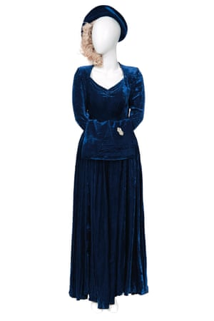Margaret Thatcher's wedding outfit from 1951.