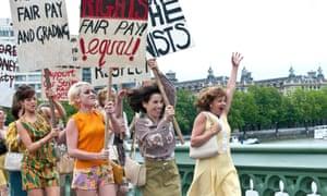 2010, MADE IN DAGENHAM ANDREA RISEBOROUGH, JAIME WINSTONE, SALLY HAWKINS & LORRAINE STANLEY Character(s): Brenda, Sandra, Rita, Monica Film 'MADE IN DAGENHAM'