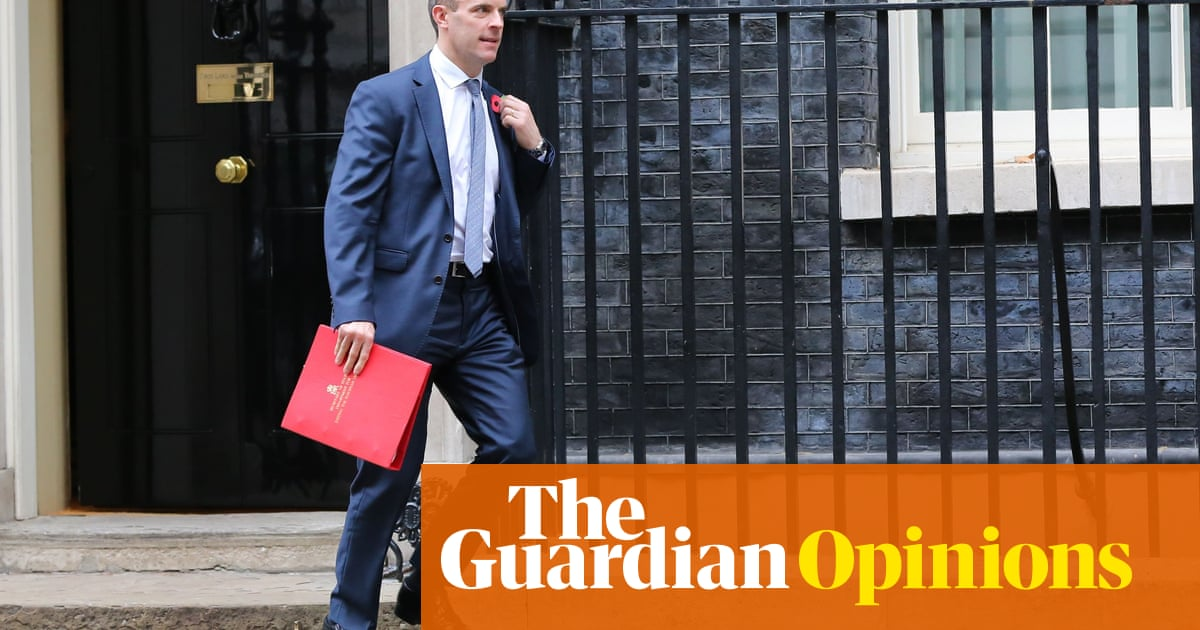 Has nobody told Dominic Raab that Britain is an island? | Rafael Behr