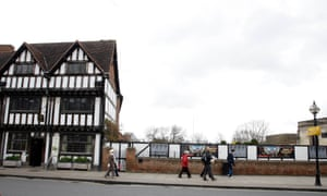 Nash's House and the site of New Place in Stratford-upon-Avon.