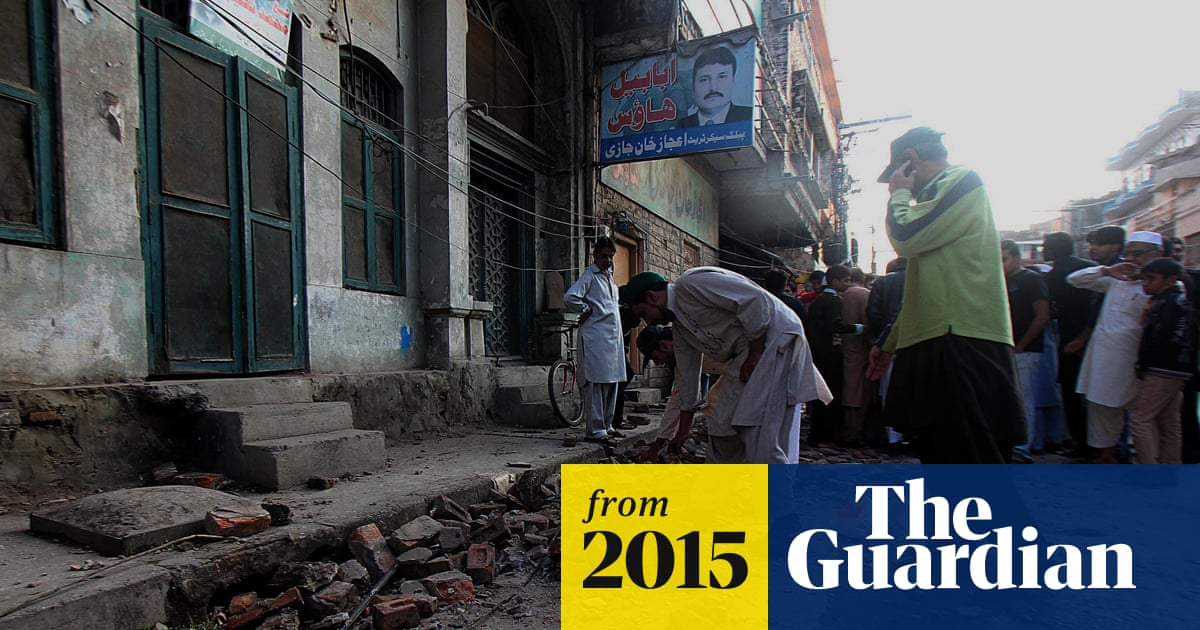 Deadly factory collapse in Pakistan 'may be linked to quake