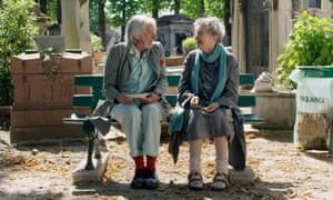 Pierre Richard and Emmanuelle Riva in Lost In Paris: 'never takes flight'.