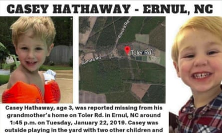 The missing poster for missing Casey Hathaway.