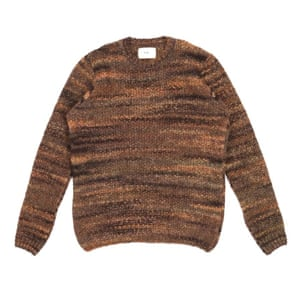 Spice and chocolate hues are subliminally comforting to be wrapped in. Melange, £110, folkclothing.com