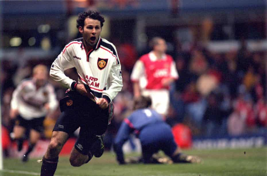 Chest hair incoming after Ryan Giggs's extra-time goal.