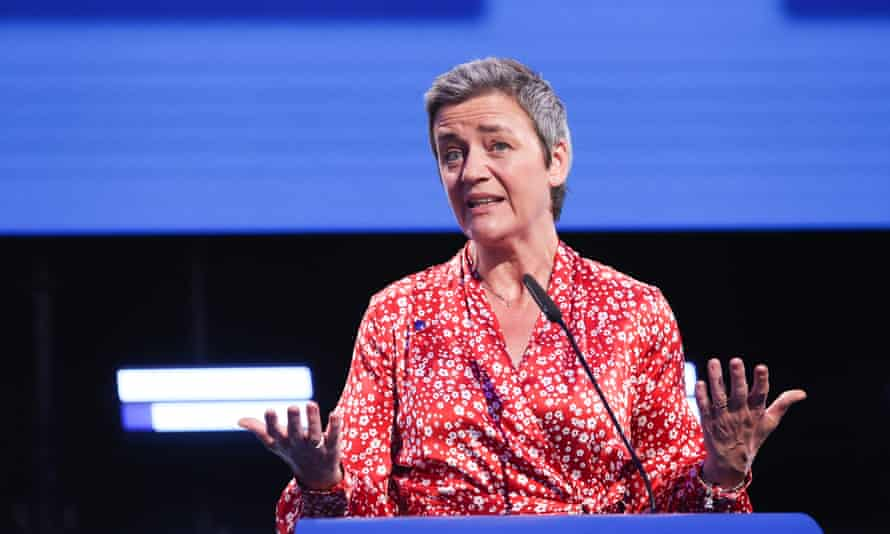 Margrethe Vestager, whom Macron believes has the potential for the role.