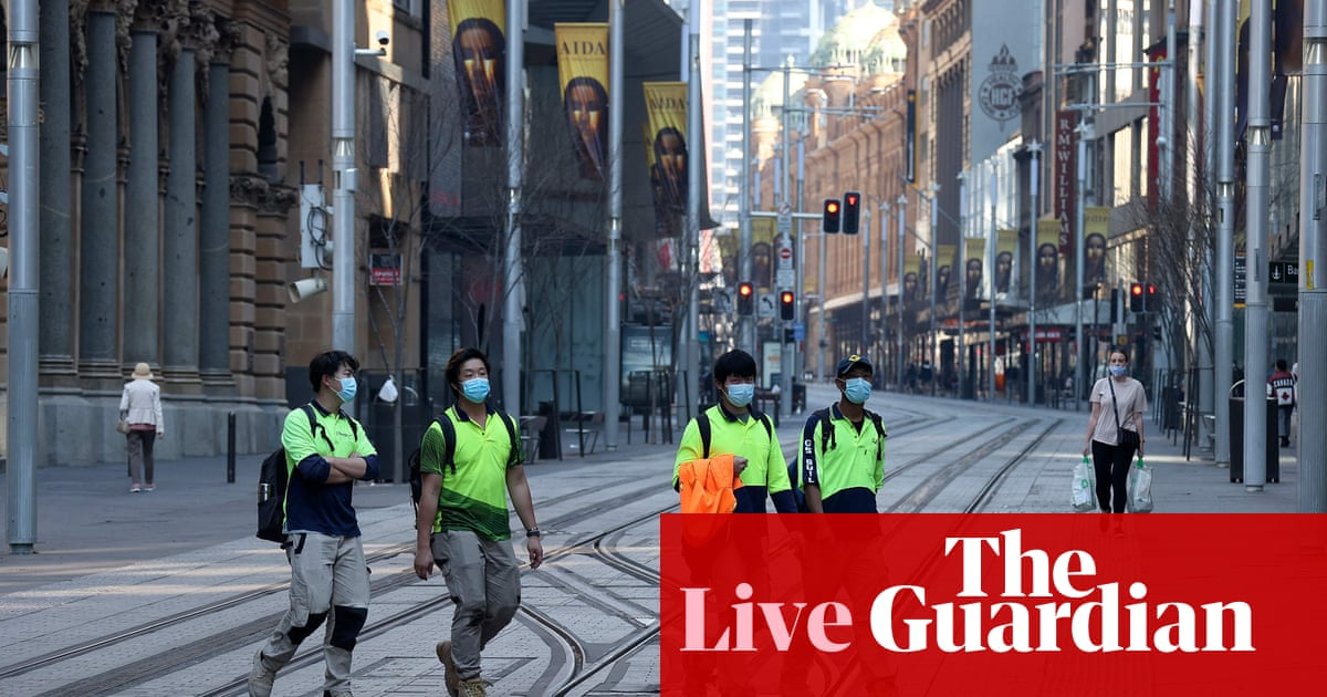 Australia politics live news: new Covid restrictions in place in NSW, Victoria begins vaccination blitz