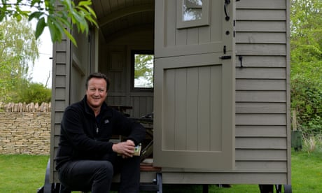 David Cameron led us to this calamity. Yet he stays quiet and hides in his hut