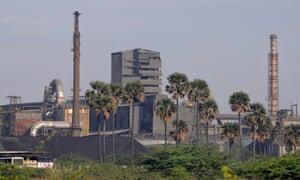 The Tuticorin copper plant